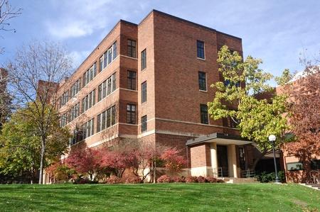 Bâtiment de brique sur l'Université du Minnesota Saint-Paul Campus Banque d'images - 13455491