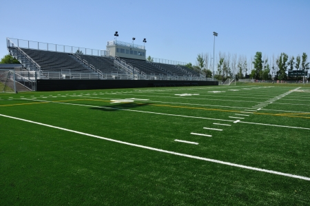 campo di calcio: Tribuna di American High School Football Stadium