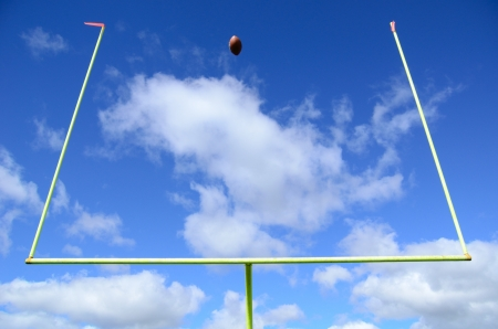 Field Goal, American Football and Goal Posts
