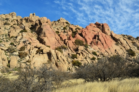formations: Granite Rock Formations in Texas Canyon, Arizona