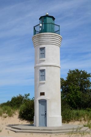 robert: Robert H. Manning Memorial Lighthouse in Empire, Michigan