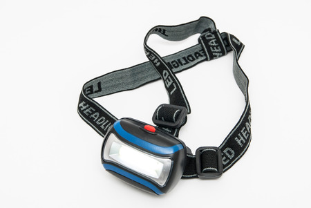 LED headlamp for fixing on head