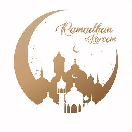 Ramadan Kareem Background Vector Design
