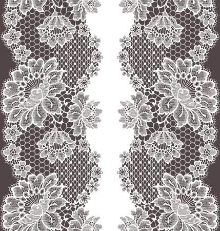 ladylike: Lace seamless pattern
