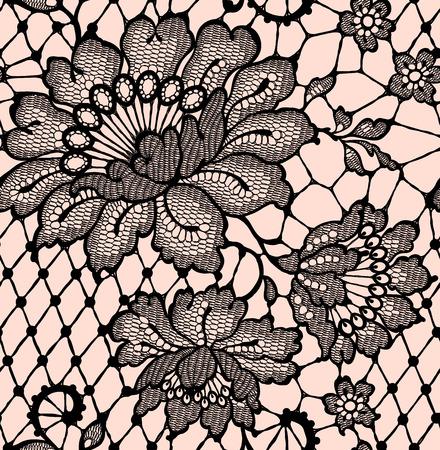 lace: Modelo incons�til del cord�n de encaje Negro