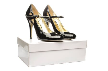 Shoes on the box