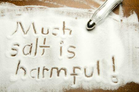 Much salt is harmful