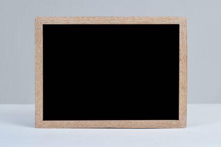 Blank blackboard empty space for add text, on grey background