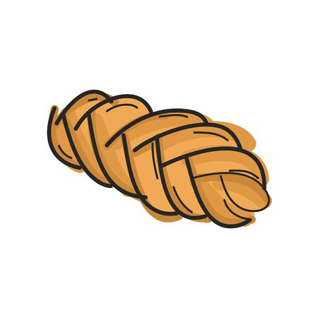 Bread, Bakery badge, logo icon modern style vector.  design elements isolated on white background Vettoriali