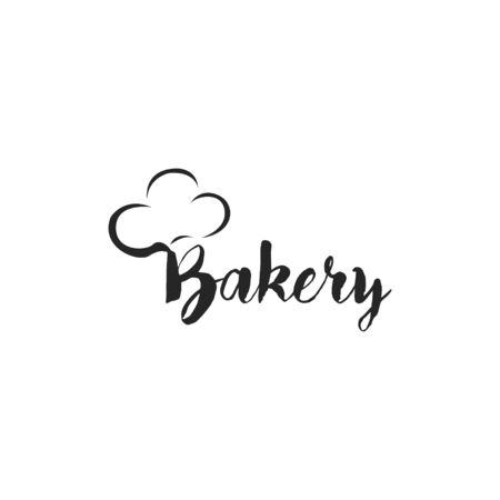 Bakery badge, logo icon modern style vector.  design elements isolated on white background