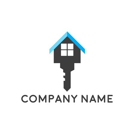 Real estate property logo concept for business corporate sign