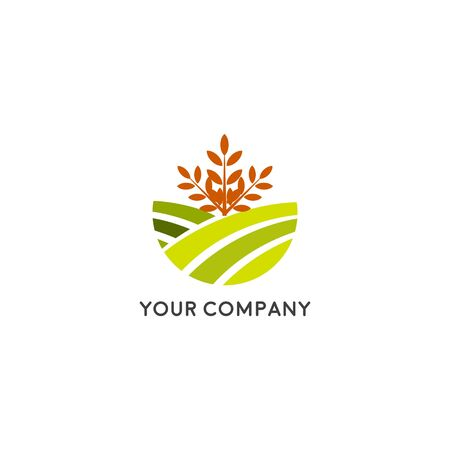 Farm House concept logo vector