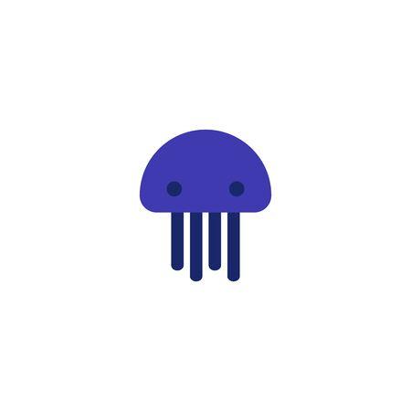 jellyfish logo icon designs vector Ilustração