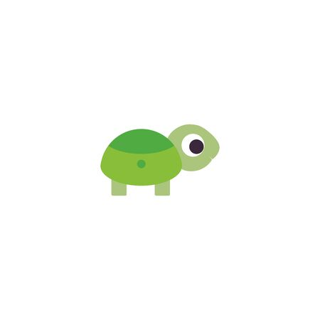 Turtle and tortoise logo illustration