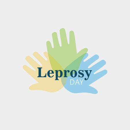 World Leprosy Day Vector Illustration