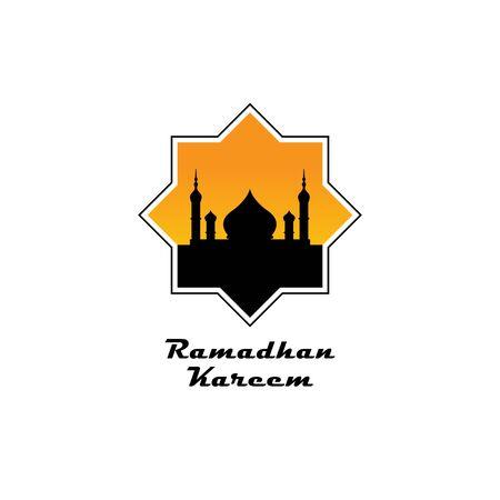 ramadan symbol icon, design template. ramadan logo