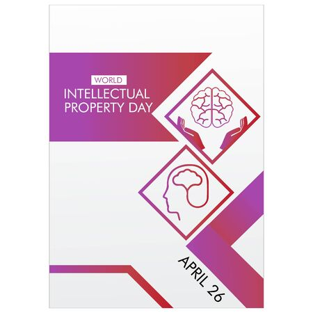 World Intellectual Property Day Vector Illustration