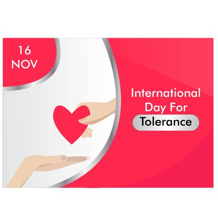 International Day for Tolerance Vector Illustration. background. banner Vector Illustration