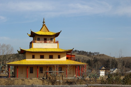 samsara: Buddhist temple