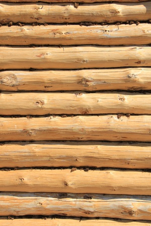 huts: Wooden wall  Stock Photo