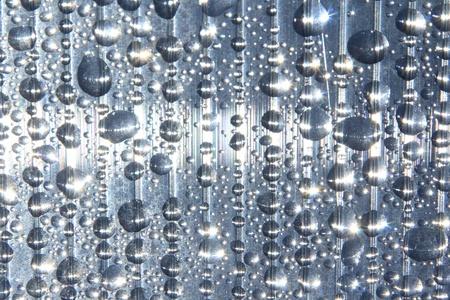 Water drops on window  photo