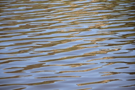 Ripples on the water, background  photo