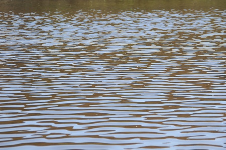 brilliant   undersea: Ripples on the water, background  Stock Photo