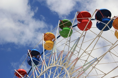 Attraction Ferris wheel  Stock Photo - 9704159