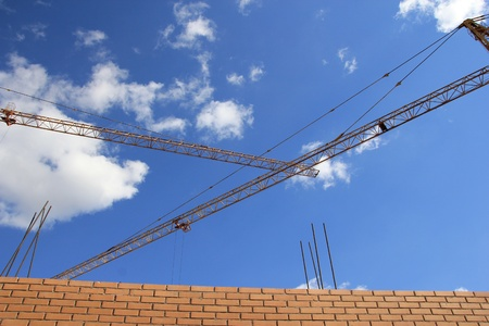 Construction of new dwelling house  photo