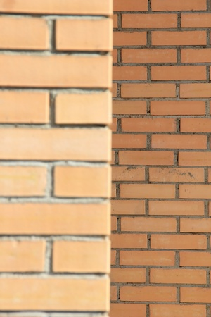 Brick walls of a new home Stock Photo - 9703889