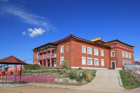 Buddhist temple on Bald Mountain  photo