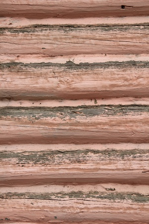 Part of a wooden house  photo