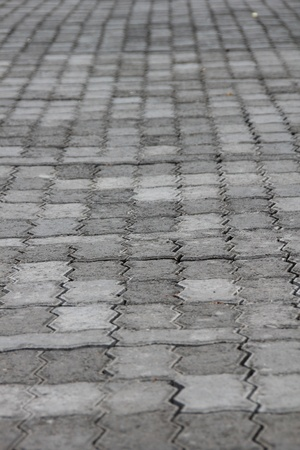 Pavement, tiled  photo