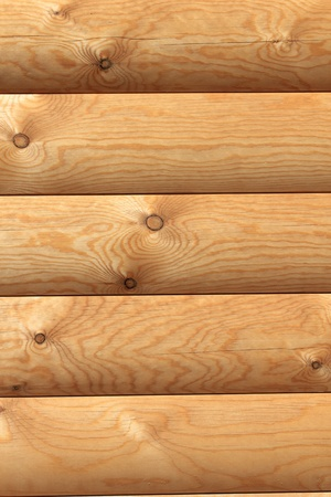 A fragment of the wall of timber  Stock Photo - 10085045