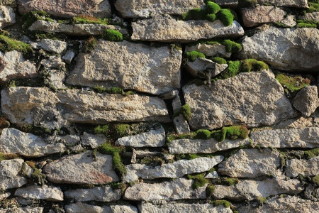 The stone wall photo