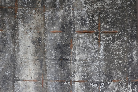 The texture of a gray concrete wall photo
