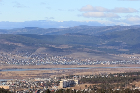 Outskirts of the city, Ulan-Ude  photo