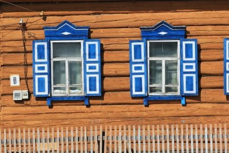 rustic window with shutters Stock Photo - 18714301