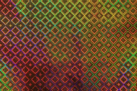 texture color holographic paper Stock Photo