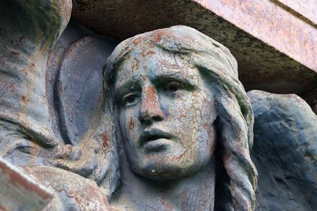 glasgow: Necropolis cemetery in Glasgow, Scotland Stock Photo