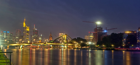 Frankfurt Main in Hesse, Germany Stock Photo