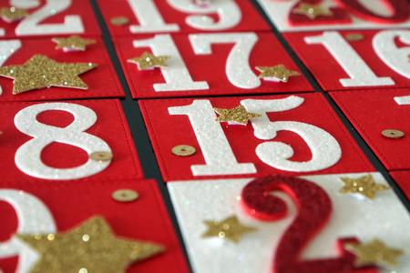 Self Made advent calendar Banco de Imagens
