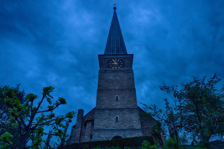 Old church in the historical center of Muelheim in Germany