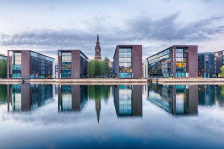 Christianshavn district in Copenhagen, Denmark Editorial