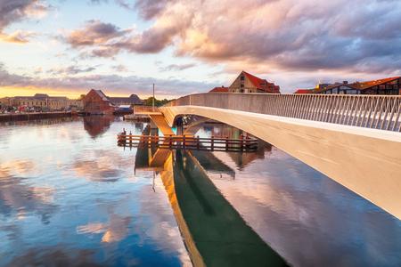 Bridge in the harbor of Copenhagen