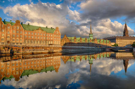 Historical stock exchange in Copenhagen
