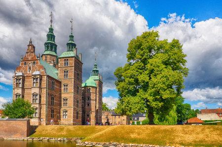 Historical castle in Copenhagen