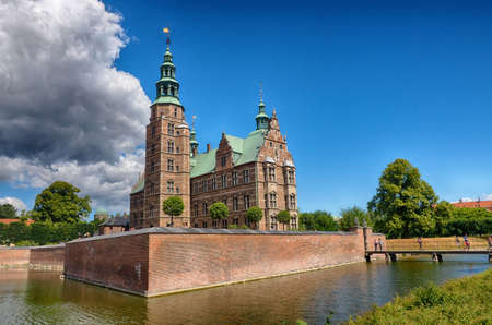 Old castle in Copenhagen
