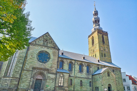 Historical church in Soest, Germany