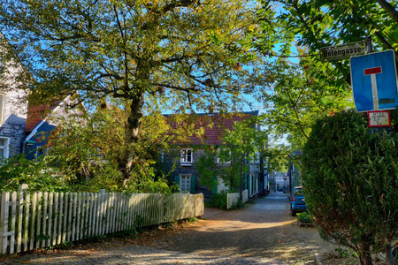 Autumn in the historical village of Lennep
